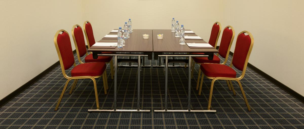 Meeting room in Moscow hotel